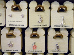 Sterling Silver, Disney jewelry, charm bracelet, Main Street, U.S.A, Disney Princess