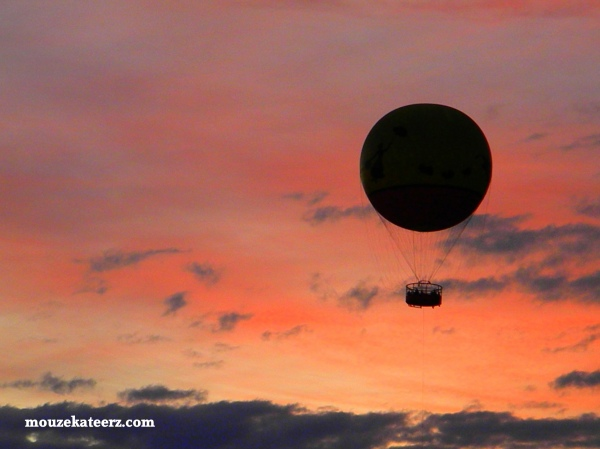 Downtown Disney, Characters in Flight, Disney Balloon, Disney hot air balloon
