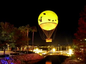 Downtown Disney balloon ride, Downtown Disney, Disney World, Disney food, Disney resorts