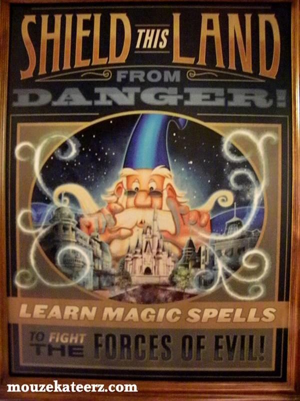 Sorcerers of the Magic Kingdom game, Magic Kingdom