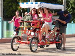 Disney surry bike, Disney surrey bike