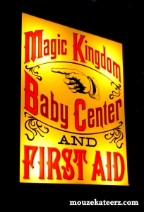 magic kingdom first aid, magic kingdom baby center, disney first aid, disney baby center