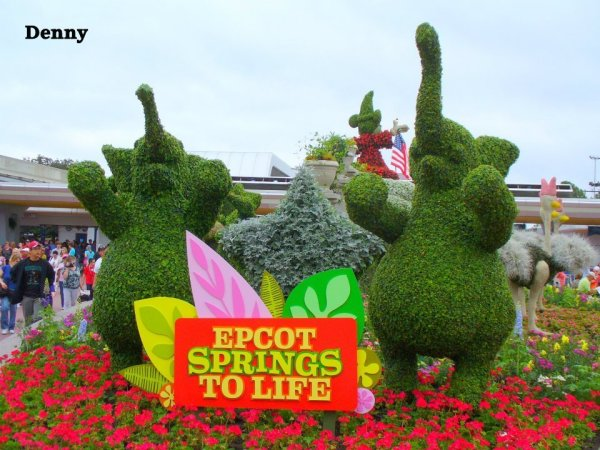 Epcot Springs to Life, Flower and Garden Festival, Epcot, Epcot Topiary