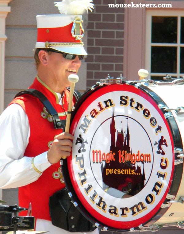 Disney bands, Disney Main Street band, Disney Philharmonic band, Disney musicians