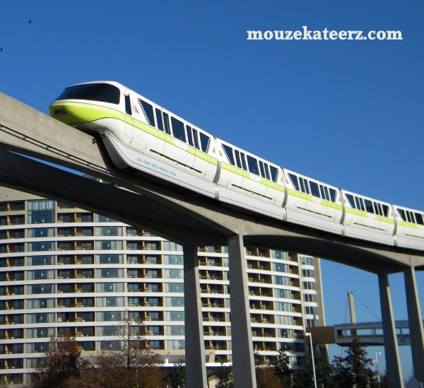 Bay Lake Tower, WDW monorail, Disney monorail, Epcot monorail