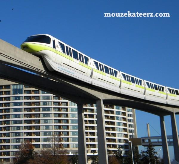 Bay Lake Tower, WDW monorail, Disney monorail, Epcot monorail