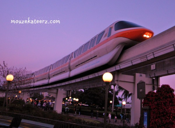 Disney monorail, Disney transportation, Cast Member Disney transportation