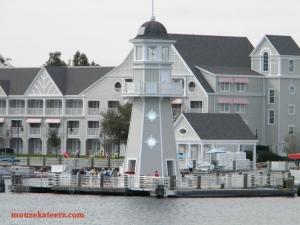 Disney's Yacht Club Resort, Crescent Lake Disney