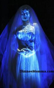 Haunted Mansion Bride, Haunted Mansion Ghosts, Haunted Mansion Spirits