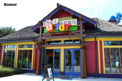 Once Upon A Toy, Disney's Once Upon A Toy, Downtown Disney stores, Downtown Disney shopping