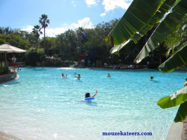 Animal Kingdom pool, Animal Kingdon Resort Kadani pool