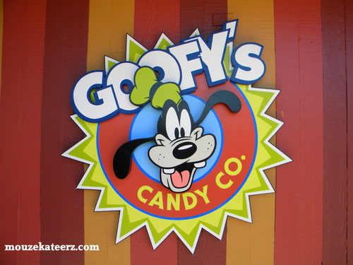 Downtown Disney, Goofy's Downtown Disney, Goofy snacks, Disney snacks