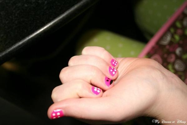 Disney nail art, Disney nails, nail art Disney, Disney nail designs, Minnie Mouse nail designs