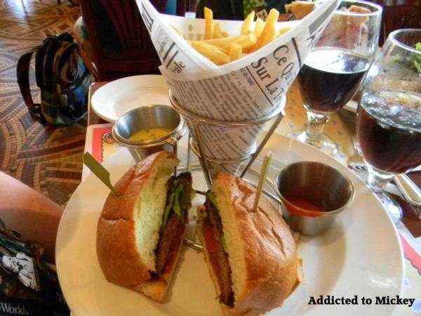 Epcot hamburger, Epcot Angus hamburger