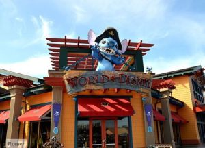 World of Disney store, World of Disney Downtown Disney,