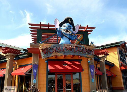 World of Disney store, World of Disney Downtown Disney,
