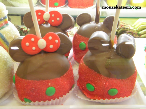 Disney chocolate caramel apple