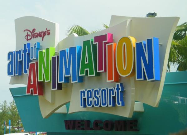 Finding Nemo, Cars, Lion King, the Little Mermaid, Disney Resorts