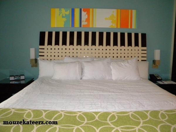Bay Lake Tower bed, Bay Lake Tower 1 bedroom, bay Lake Tower DVC