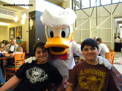 Chef Mickey's Donald, Chef Mickey's ADR, Chef Mickey's reservations