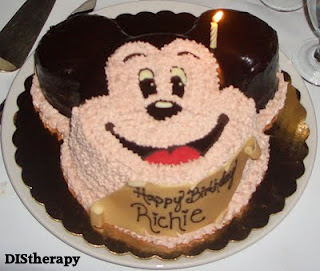 Disney specialty cake, Disney birthday cake, Disney champagne,