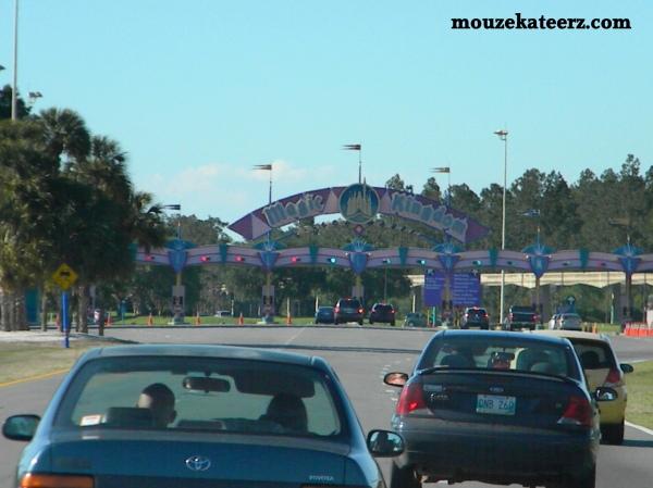 Disney traffic, Disney signs, Disney property, Disney roads, Disney Highways