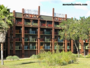 Disney's Animal Kingdom Lodge savanna, Disney's Animal Kingdom Lodge balcony