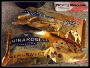 Ghiradelli Ultimate Chocolate Chip Cookies, Disney recipies, Ghiradelli chocolate