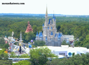 Magic Kingdom, Cinderella Castle, Tomorrowland Disney