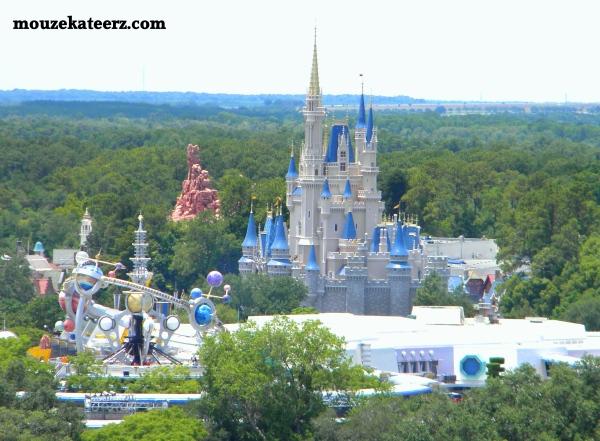Magic Kingdom, Cinderella Castle, Fantasyland, DVC, Bay Lake Tower