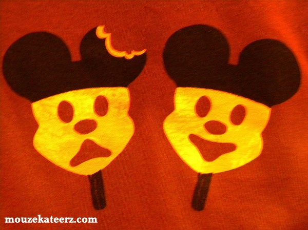 Disney crafts, Mickey Mouse Ice Cream bar t-shirt, Mickey Mouse t-shirt, Mickey Mouse Ice Cream bar