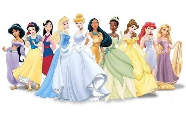 Disney Princesses, How to Look like a Disney Princess, Disney Princess Characteristics