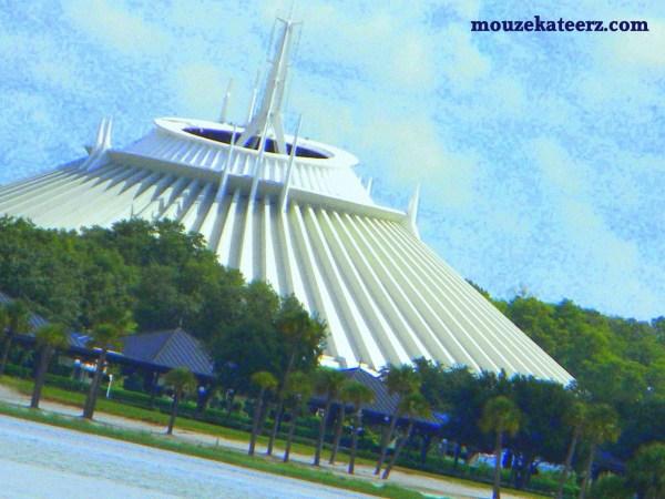 Space Mountain, Seven Seas Lagoon, Disney Roller Coasters