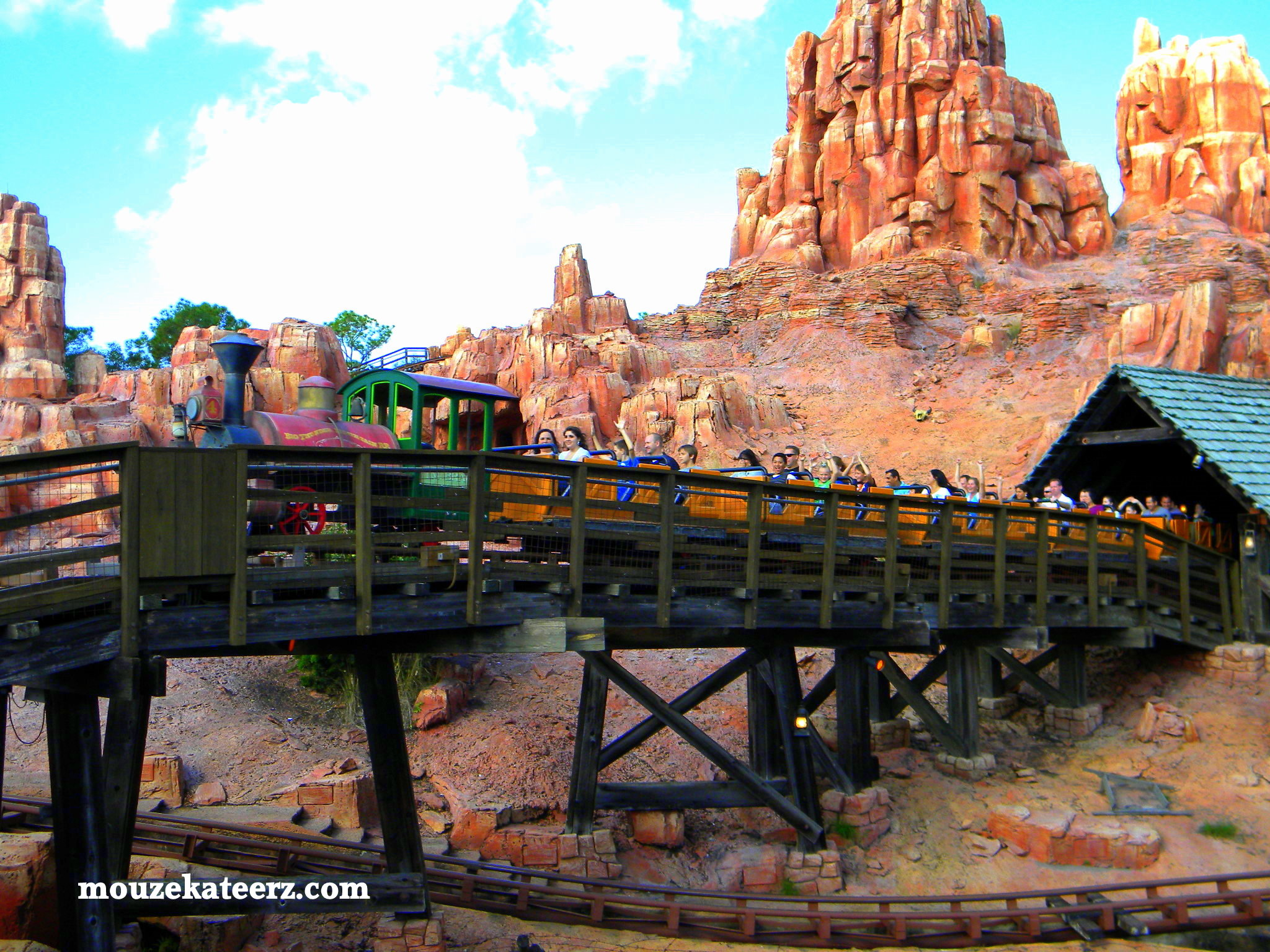 big thunder mountain railroad - photo #13