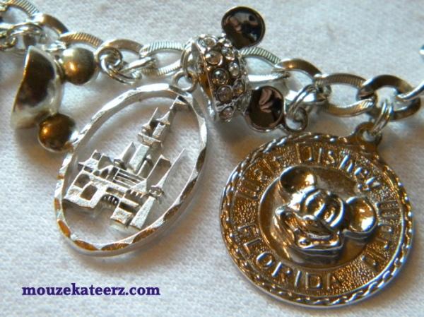 Disney charm bracelet, charm bracelet, charms, Disney charms