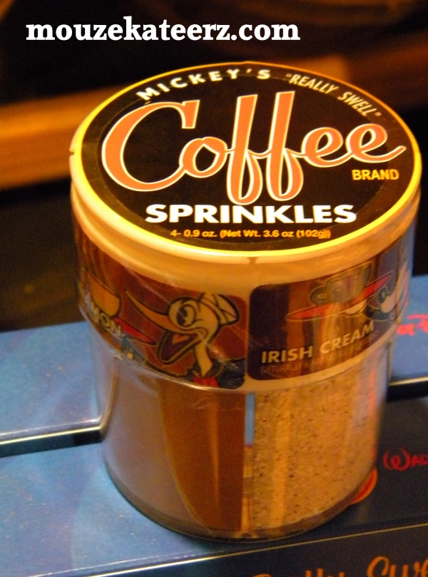 coffee sweetner, coffee sprinkles, Disney sugar,