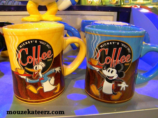 Disney coffee, Disney coffee mug, drinking Disney coffee, where to find Disney coffee,