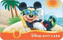 Disney Gift card beach