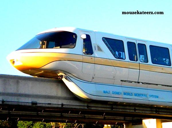 Disney Monorail, Disney vacation, monorail Yellow
