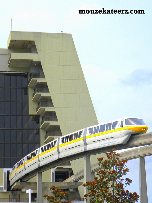 Contemporary monorail, monorail track