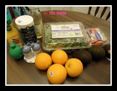 Avacado-Citrus Salad, Avacado-Citrus Salad recipe, Disney Dream recipes, Disney recipes