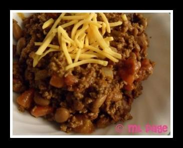 how to cook chili,good chili, good chili recipe, Disney recipe