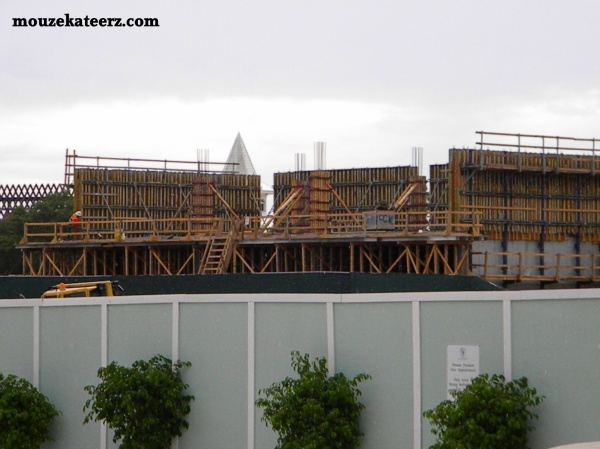Grand Floridian construction, Grand Floridian construction photos, Grand Floridian construction on DVC villas