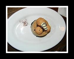 chocolate Amarettini cheesecake, Hollywood Studios cheesecake, Hollywood studios food,