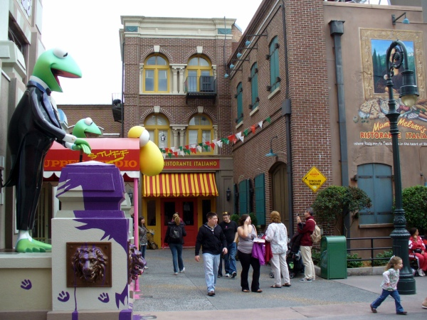 Muppets 3D movie, good food at Hollywood studios, where to eat at Disney World, Hollywood Studios backlot, Hollywood Studios backlot tour