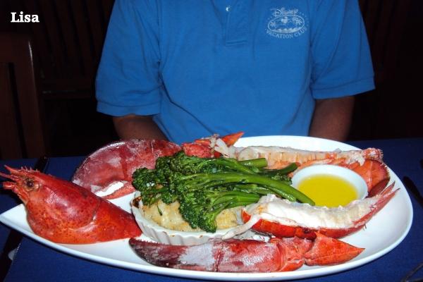 Narcoossee's lobster, Narcoossee's menu, Narcoossee's restaurant, Narcoossee's at the Grand Floridian