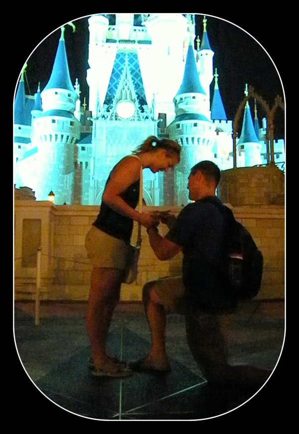 propose at Disney