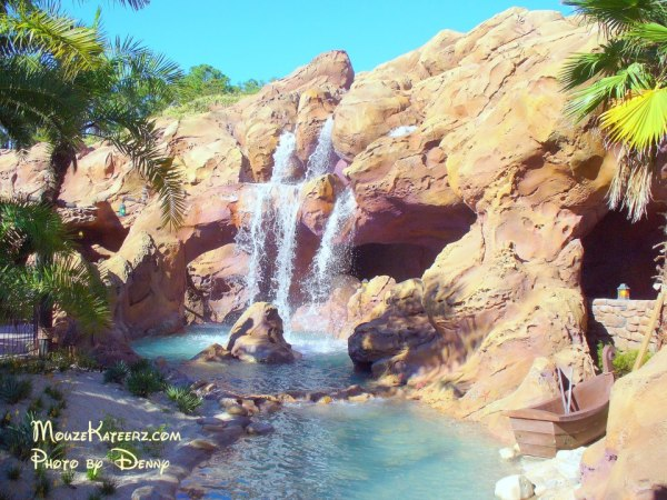 Prince eric castle ariel waterfall