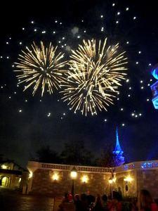 wishes fireworks magic kingdom