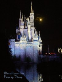Magic Kingdom Castle Christmas